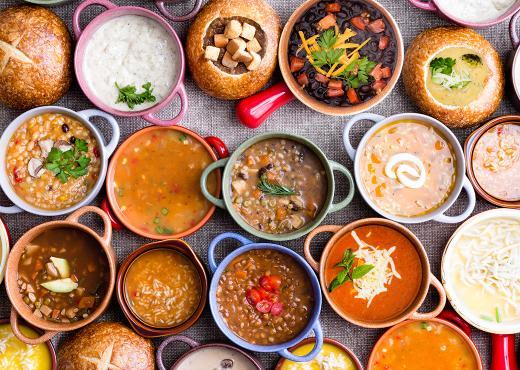 Γαρνιτούρα: το κερασάκι στη… σούπα!