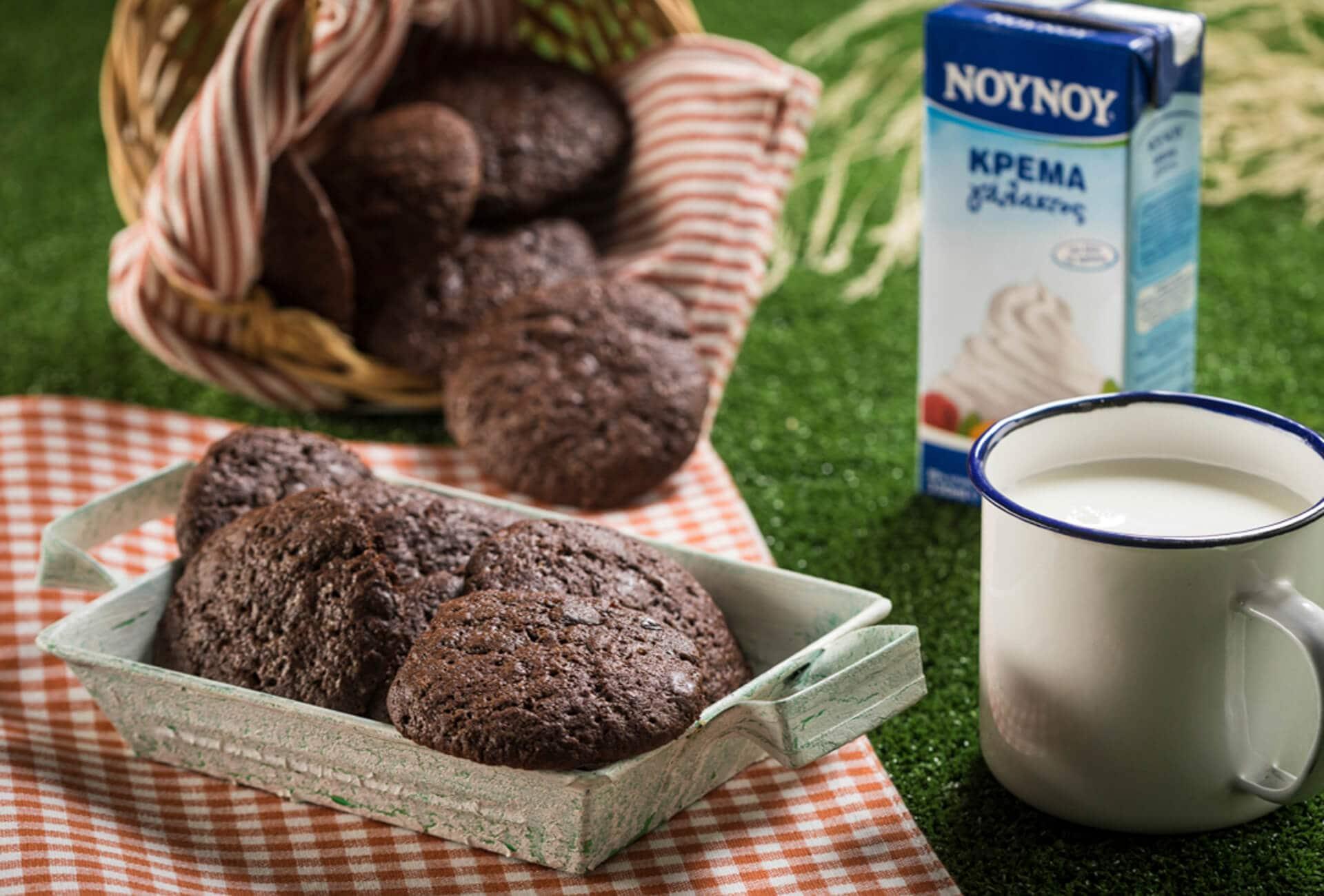 Μαλακά cookies με σοκολάτα