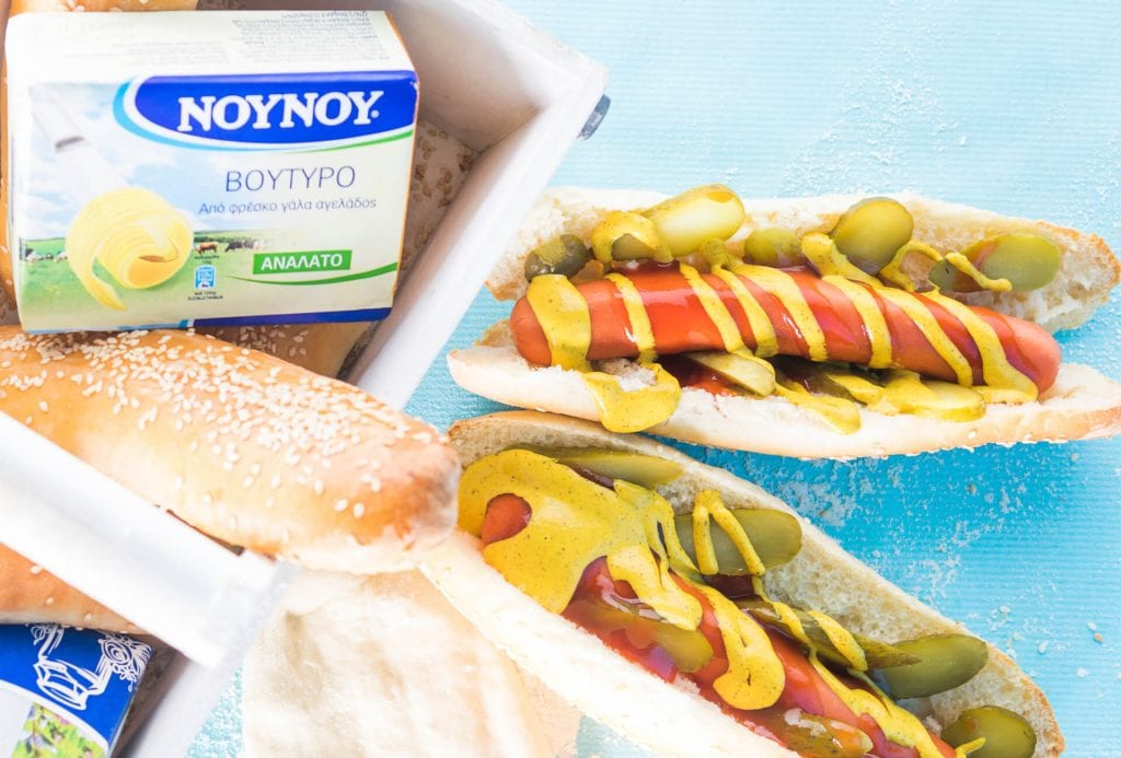 Σπιτικά hot dog